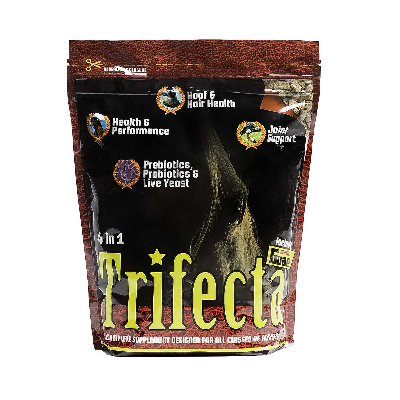 Horse Guard Trifecta Equine Vitamin Mineral Joint Hoof & Probiotic Supplement, 10 lb Horse Guard Inc Trifecta 10lb bag