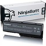 NinjaBatt Batterie pour Laptop Toshiba PA3536U PA3536U-1BRS PA3537U PA3537U-1BRS PABAS100 PABAS101 PA3537U-1BAS PA3536U-1BAS Satellite P300 L350 - haute performance [6 Cellules/4400mAh/48wh]
