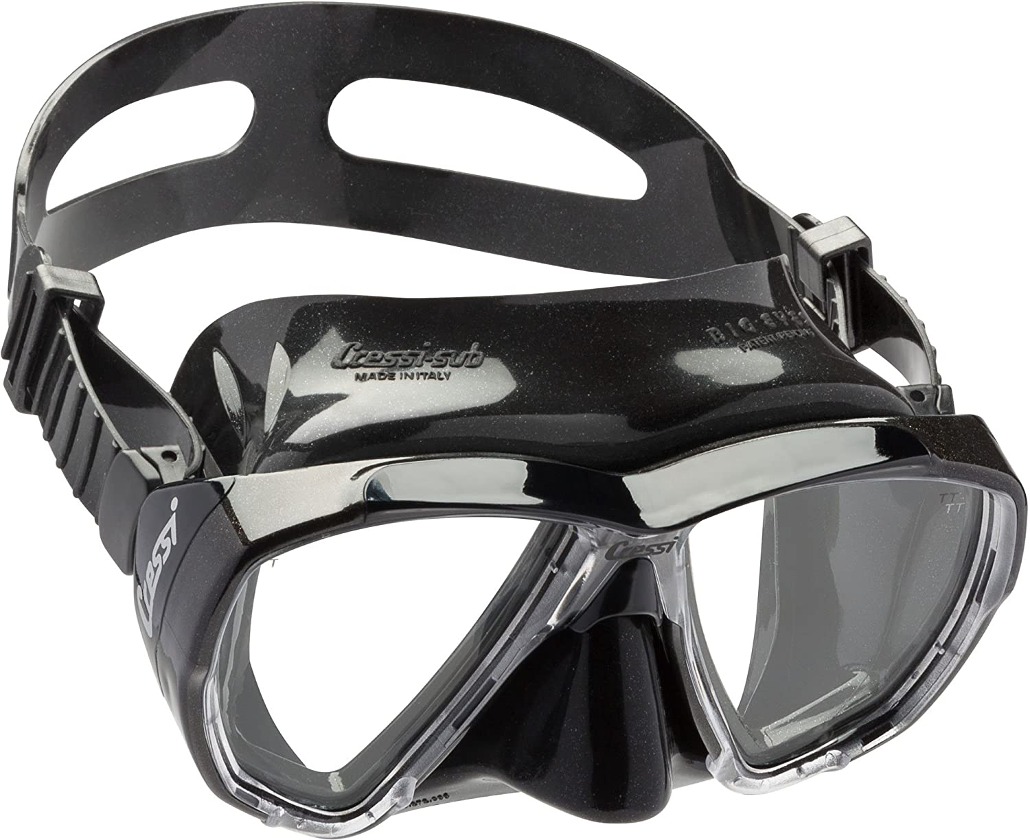 Big Eyes: made in Italy black//blue Cressi U.S.A DS262020 Cressi Adult Dive Mask with Inclined Lens for Scuba Diving optical lenses available