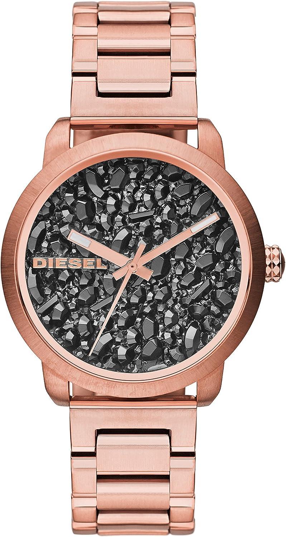 Diesel Reloj Analogico para Mujer de Cuarzo