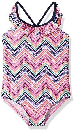 2bb67df9cd Amazon.com: OshKosh B'Gosh Girls' One-Piece Swim: Clothing
