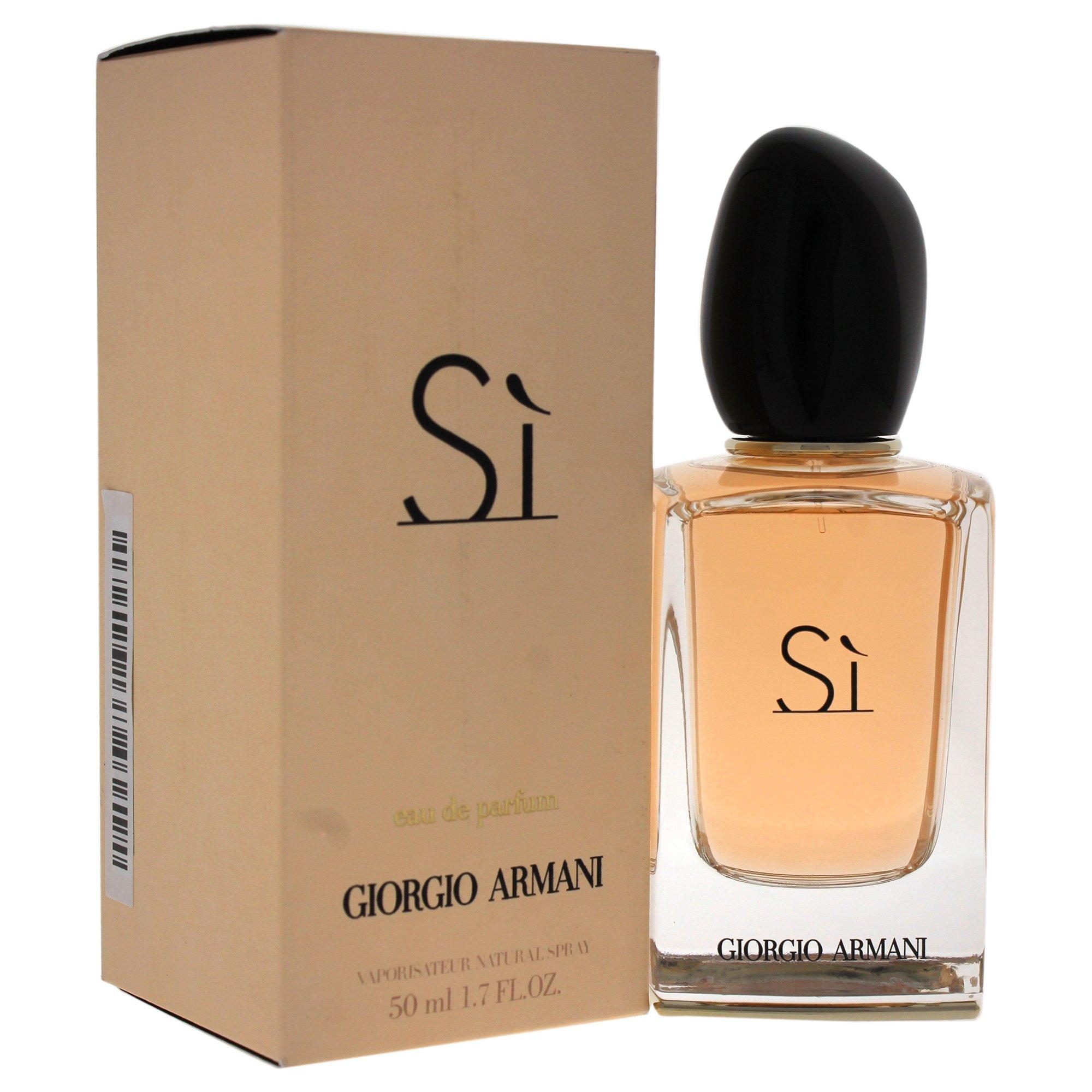 Amazoncom Giorgio Armani Si Eau De Parfum Spray For Women 34