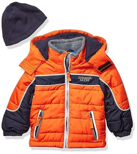 LJYH Big Boys Winter Hooded Color Block Puffer Vest