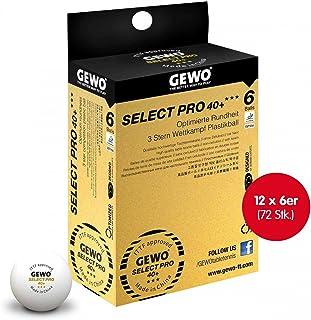 GEWO Wettkampfball Select Pro 40+ *** 12x 6er Schachtel