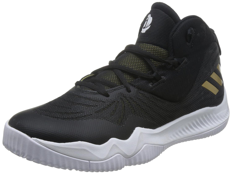 super popular 18cde d30bf Amazon.com   adidas Men s D Rose Dominate III, BLACK GOLD MET WHITE    Basketball