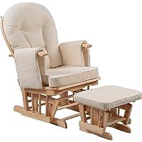 Silla de maternidad Serenity Nursing Glider con reposapiés…