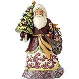 Jim Shore Heartwood Creek JS Hwc Fig Vict Santa w/Tree Figurine