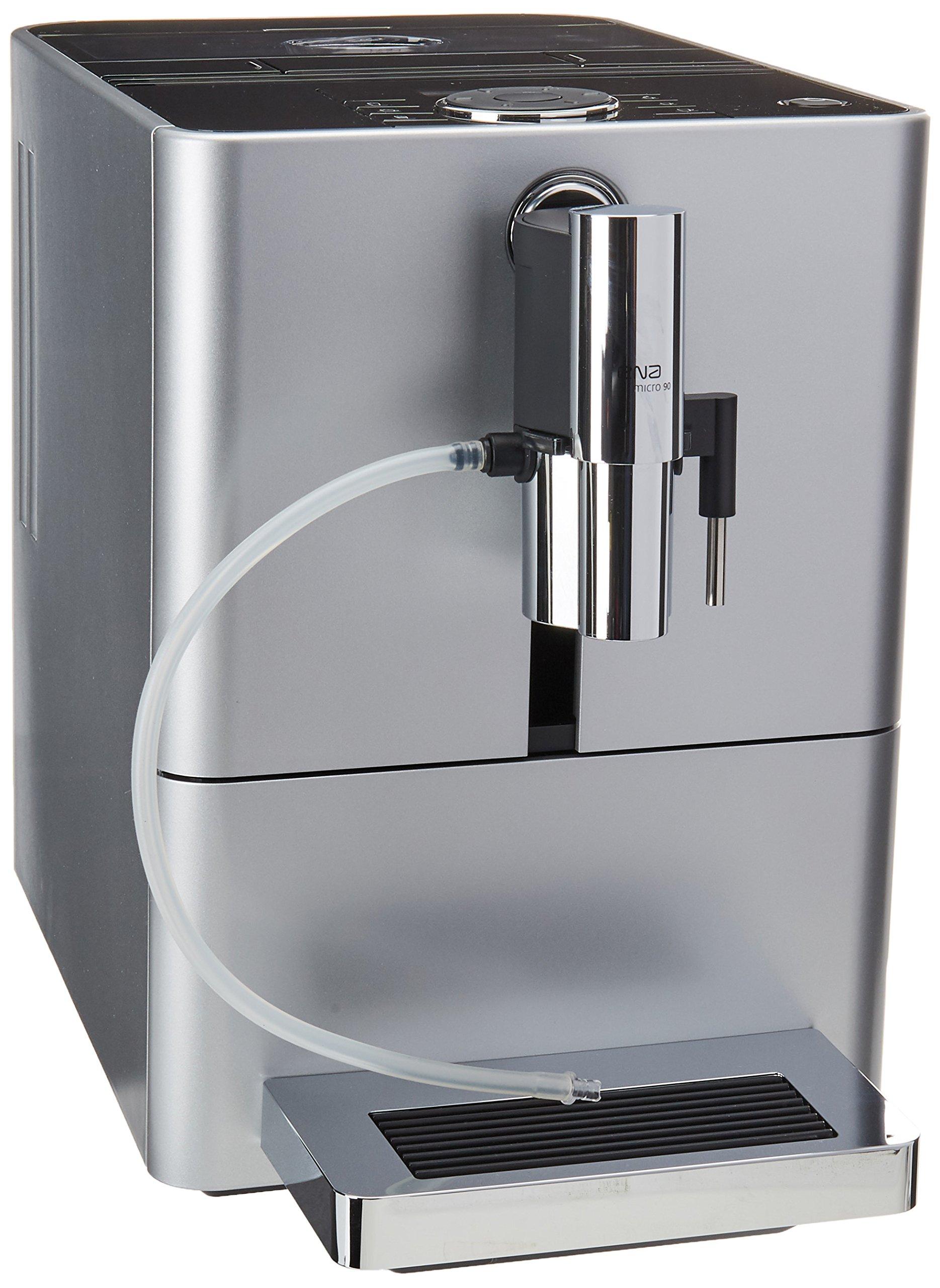 Jura 15116 ENA Micro 90 Espresso Machine, Micro Silver by Jura