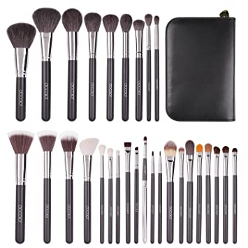 Docolor Makeup Brushes 29 Piece Professional Makeup Brush Set Premium Goat Hair Kabuki...