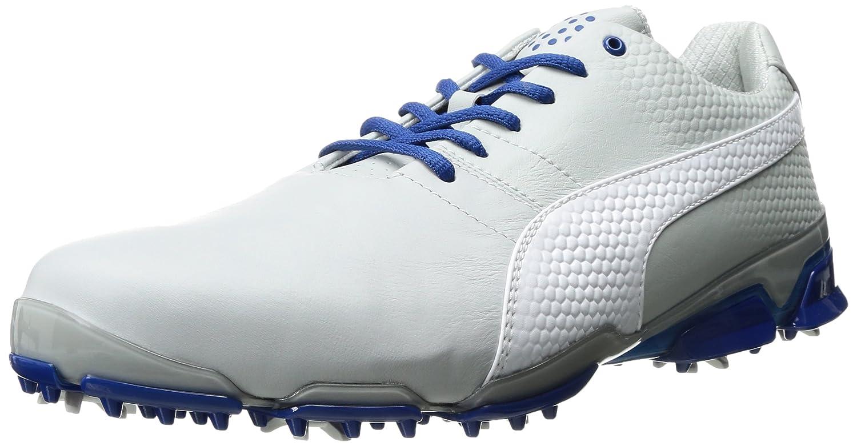 PUMA メンズ タイタンツアー イグナイト ゴルフシューズ 11.5 Gray Violet-puma White-true Blue B01KBZVDD6