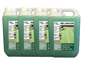 Limpiador de césped artificial y varios Relancer, antibacteriano, aroma fresco a cé