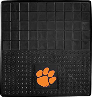 """product image for FANMATS 10851 NCAA Clemson University Tigers Vinyl Cargo Mat,Multi-colored,31""""x31"""""""