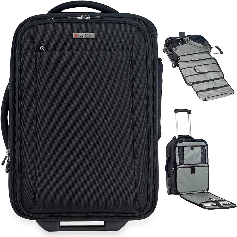 ECBC 22 inch Sparrow II Wheeled Garment Bag | TSA-approved FastPass 16