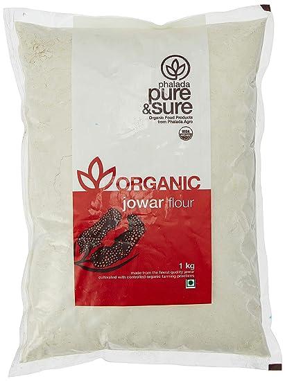 Pure & Sure Organic Jowar Flour, 1kg