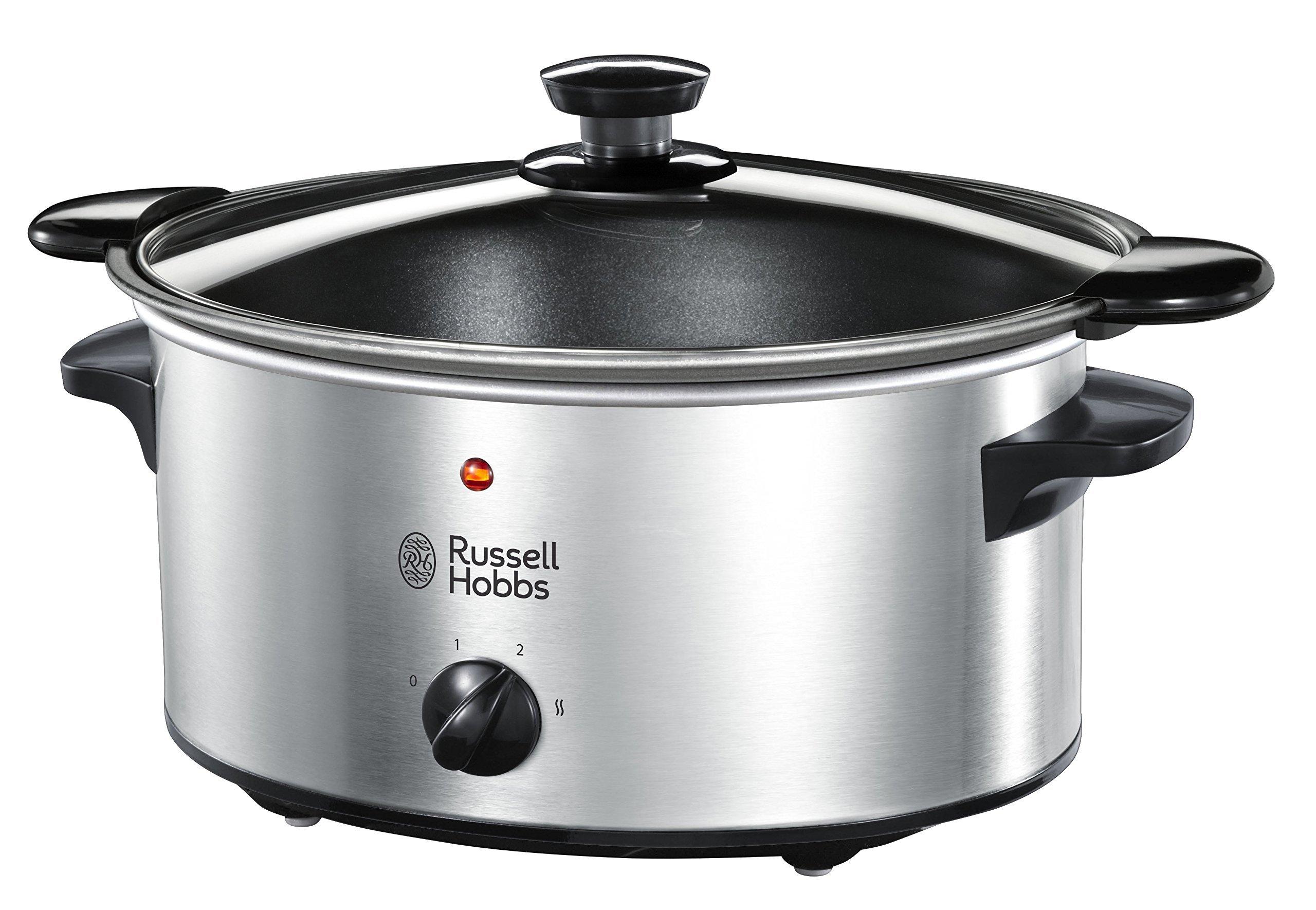 Russell Hobbs Cook Home 22740-56 – Olla de Cocción Lenta, Cocina Lenta,