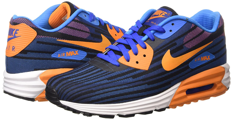 the best attitude ec3b2 a9af1 Nike Air Max Lunar 90 JCRD Schuhe game royal-copper flash-bright mango -  44, 5  Amazon.co.uk  Shoes   Bags