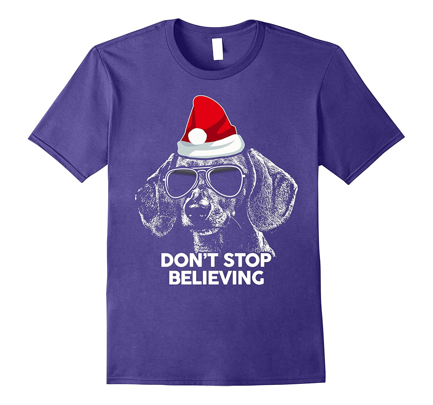 Do Not Stop Believing Dachshund Classic Christmas Shirt-ANZ