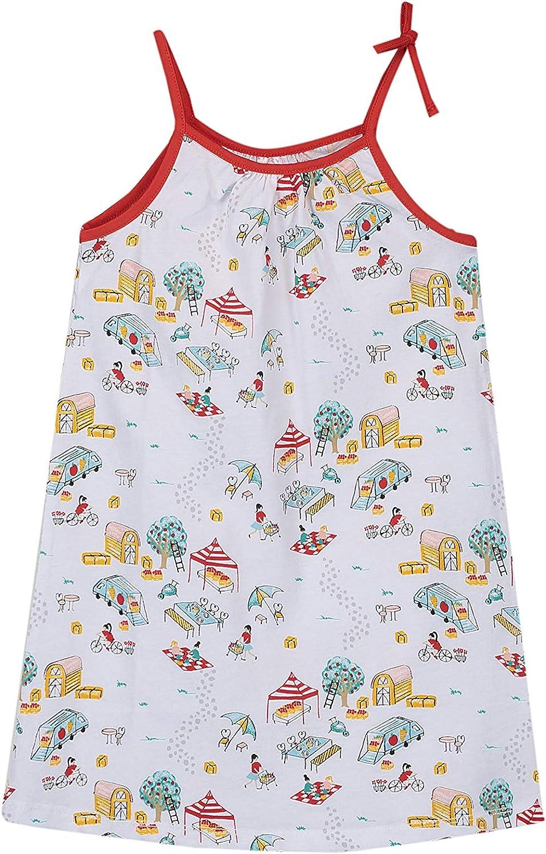 LC WAIKIKI - Camisón de algodón estampado para niña: Amazon.es: Ropa y accesorios