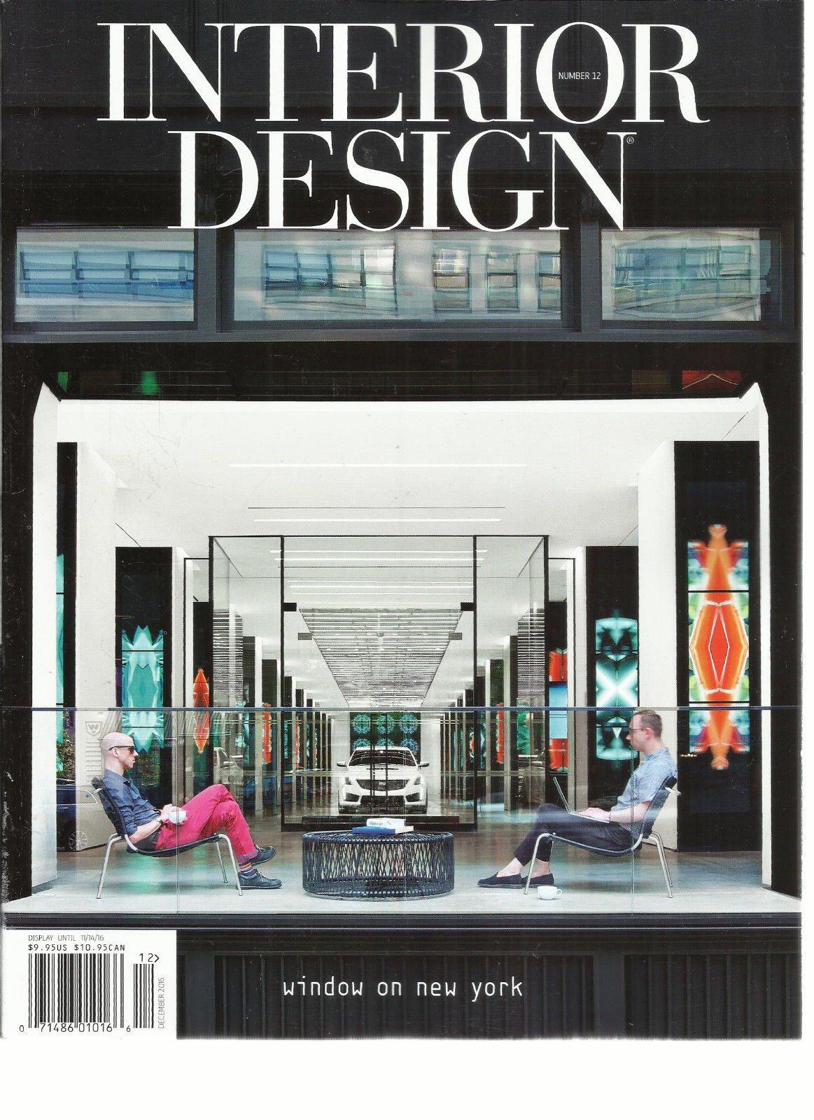 INTERIOR DESIGN MAGAZINE, ISSUE, 2016 NUMBER,12 WINDOW ON NEW YORK