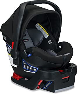 product image for BRITAX B-Safe Ultra Infant Car Seat - Rear Facing | 4 to 35 Pounds - Reclinable Base, 2 Layer Impact Protection, Noir