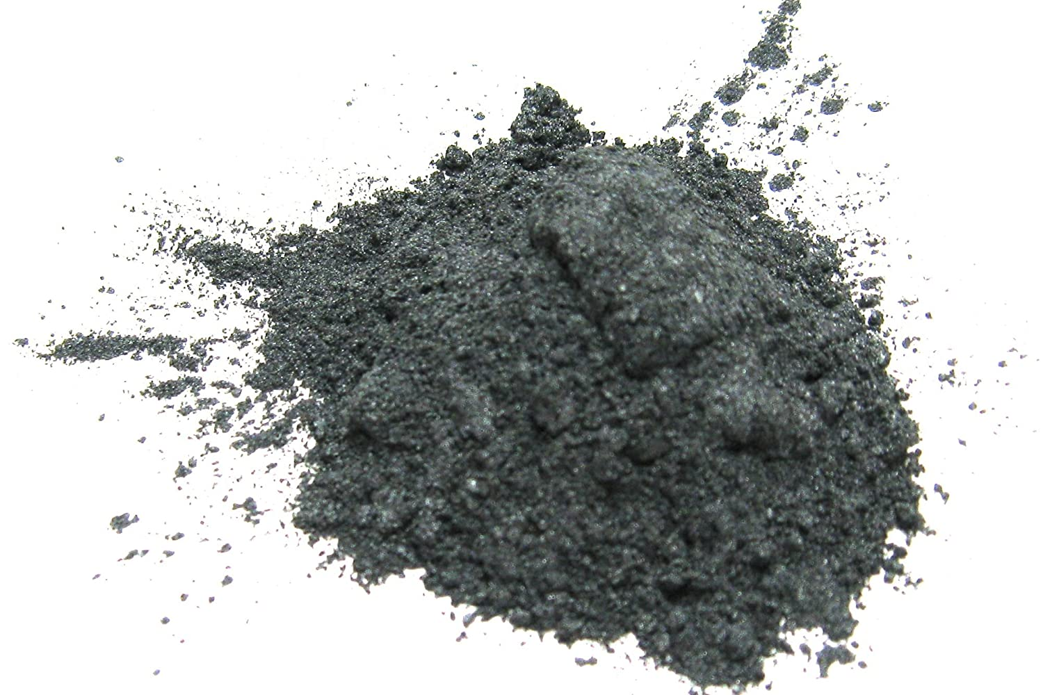 Silver Gray Mica Powder15 grams, Gray Metallic Powder, Cosmetic Mica Powder for Lipsticks, Lip Balm, Bath bombs and More, Slice of the Moon EKS Entertainment Group