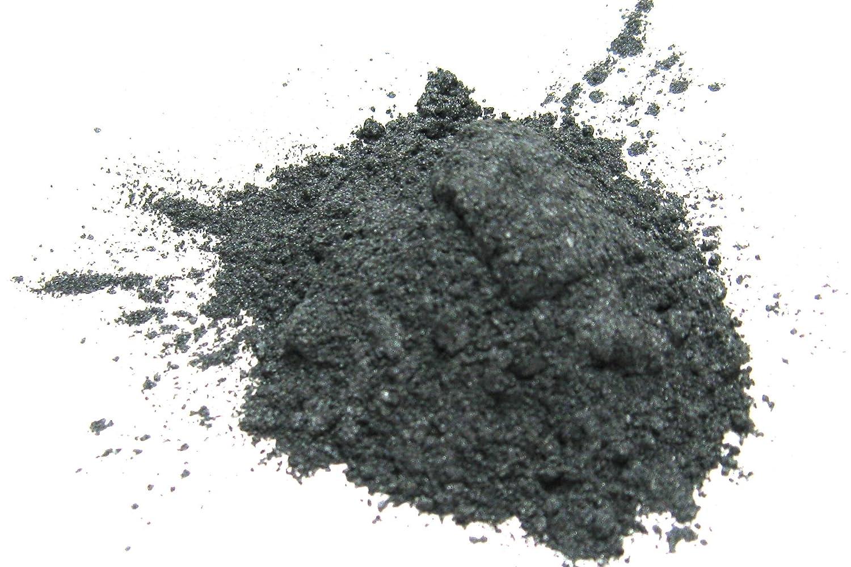 Silver Gray - Plata Gris Mica Powder 15 gramos, gris metálico en polvo, Cosmética Mica, Rebanada de la Luna, Por Labial, Esmalte de Uñas, bombas de baño y cosméticos EKS Entertainment Group