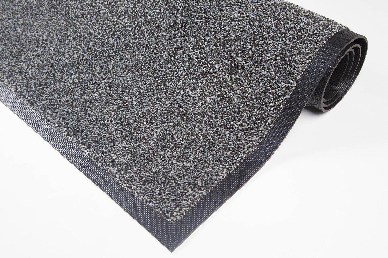 Extra starke waschbare premium Schmutzfangmatte – für Industrie, Gewerbe, Geschäft, Shop -Grau 115x200cm B07D4JRSHC Fumatten