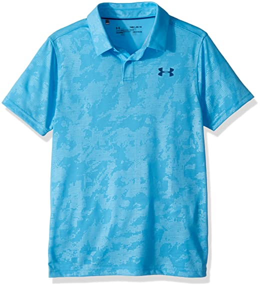 Under Armour Threadborne Polo - Polo Niños: Amazon.es: Ropa y ...