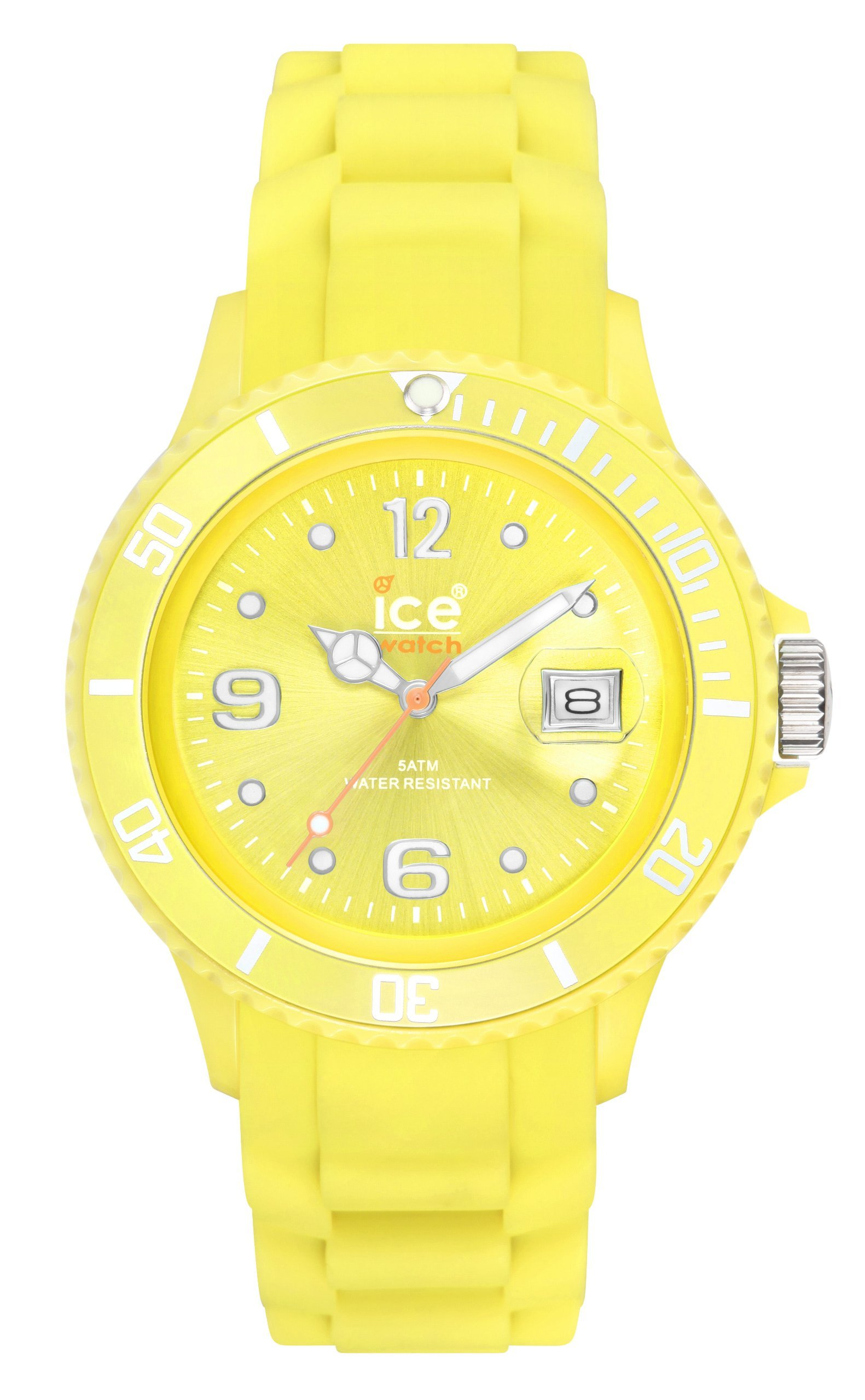 Ice-Watch SI.AA.B.S Big Sili Summer Aurora Dial Silicon Strap Watch