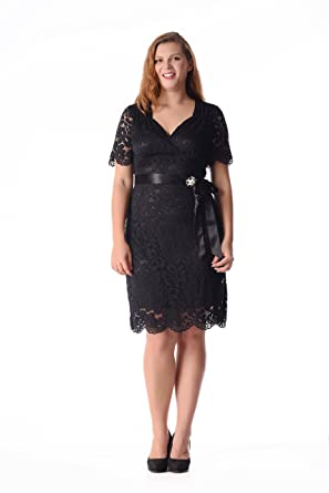 GMHO Womens Plus Size Ruched Empire Waist Sweetheart Fishtail Evening Maxi Dress (Black, ...