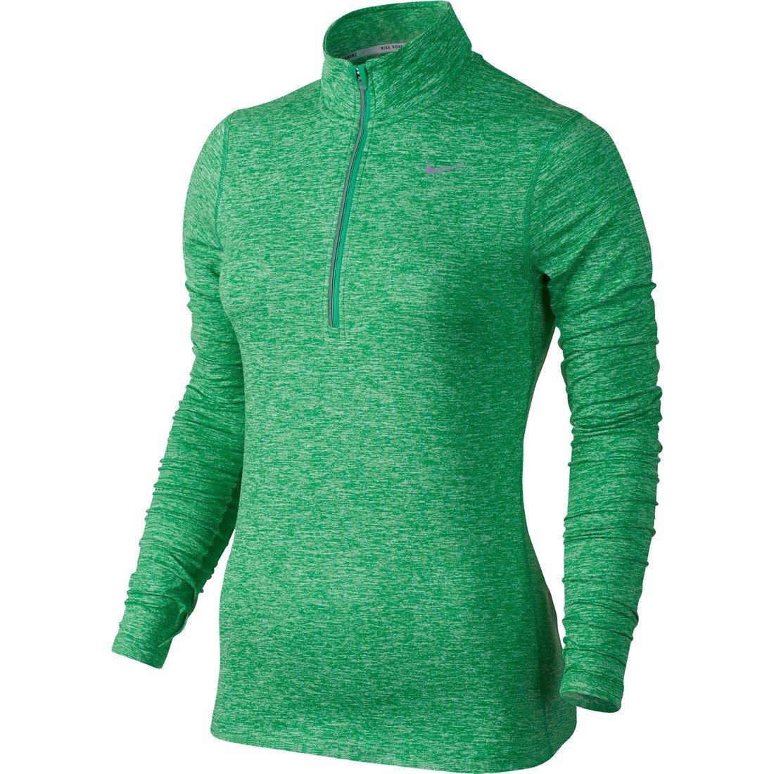 5cdd5026ab9b Galleon - Nike Womens Element Half Zip - X-Small - Spring Leaf