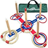 Elite Outdoor Games For Kids - Ring Toss Yard Games for Adults and Family. Easy Backyard Games to Assemble, With Compact…