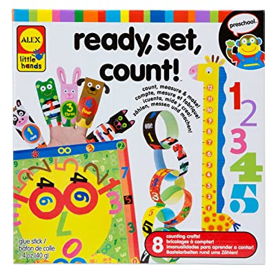 ALEX Toys Little Hands Ready Set Count: Toys & Games