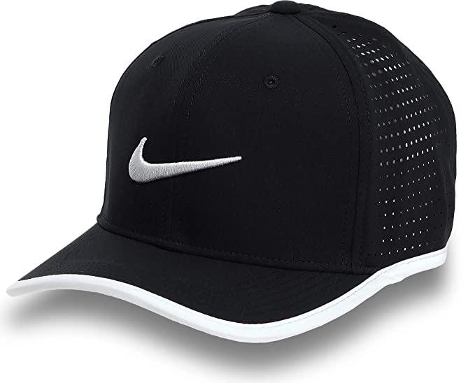 229f3d300 Amazon.com: Nike Men's Vapor Classic 99 Training Hat Black/White ...