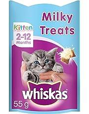 Whiskas Kitten Milky Treats 55 g ( pack of 8)