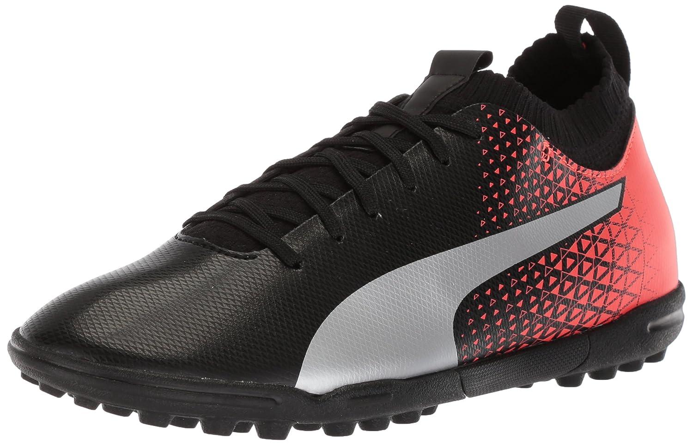Puma Herren Evoknit FTB TT Schuhe  44.5 EU|Puma Black/Puma Silver/Red Blast