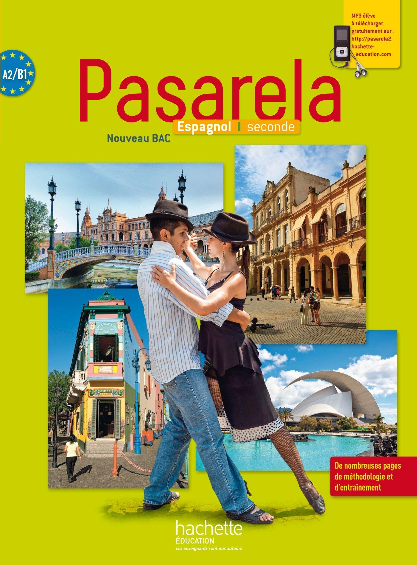 Pasarela Seconde Espagnol Livre Eleve Grand Format