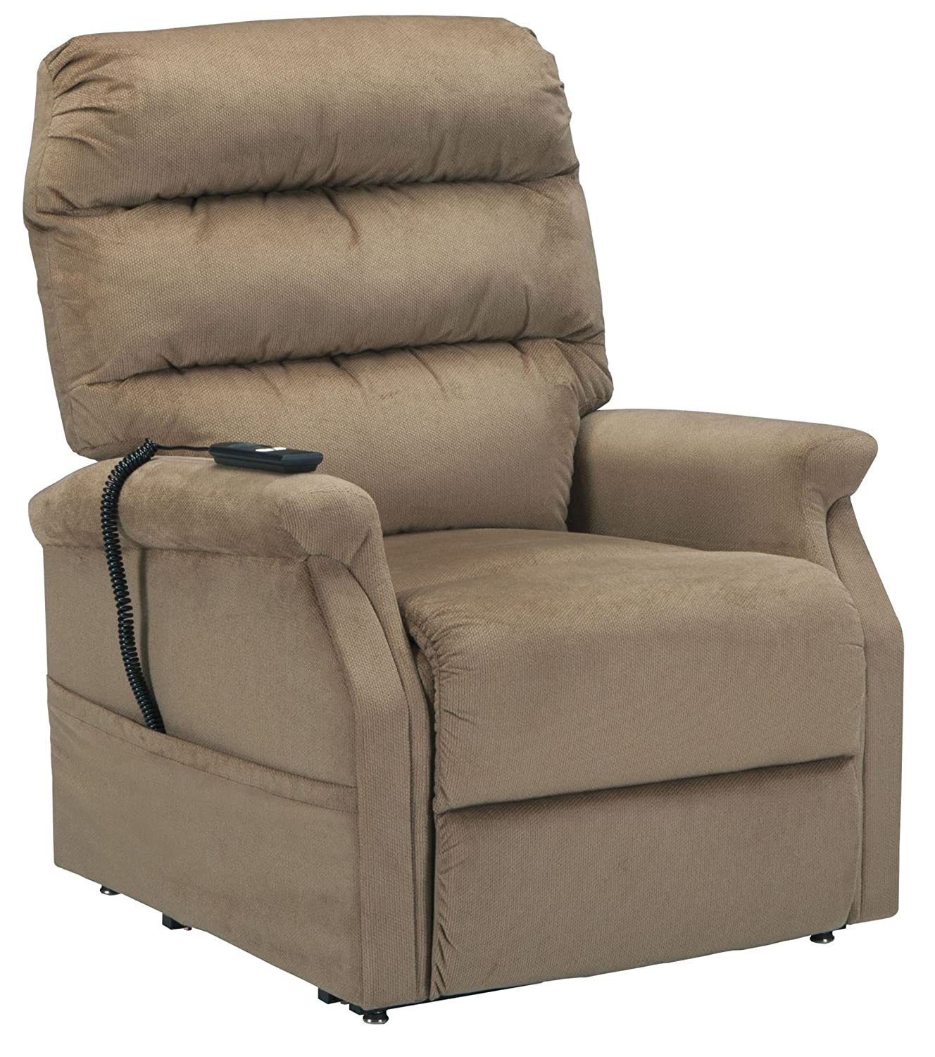 """Amazon Ashley Brenyth 32 75"""" Power Lift Recliner with"""