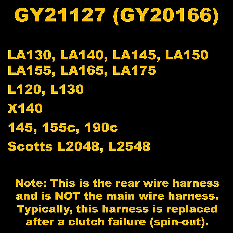 john deere 155c wiring diagram clutch amazon com hd switch john deere clutch wiring harness la130  john deere clutch wiring harness la130