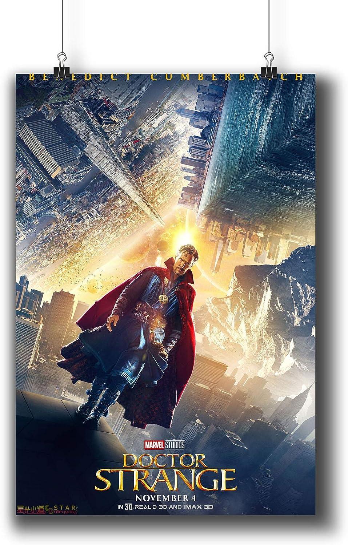 DR STRANGE Movie PHOTO Print POSTER Film 2016 Benedict Cumberbatch Marvel 009
