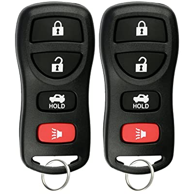 KeylessOption Keyless Entry Remote Control Car Key Fob for Nissan Infiniti KBRASTU15 (Pack of 2): Automotive