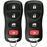 KeylessOption Keyless Entry Remote Control Car Key Fob for Nissan Infiniti KBRASTU15 (Pack of 2)