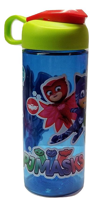 Pj Masks-Gekko, Catboy, and Owlette Blue16oz Water Bottle