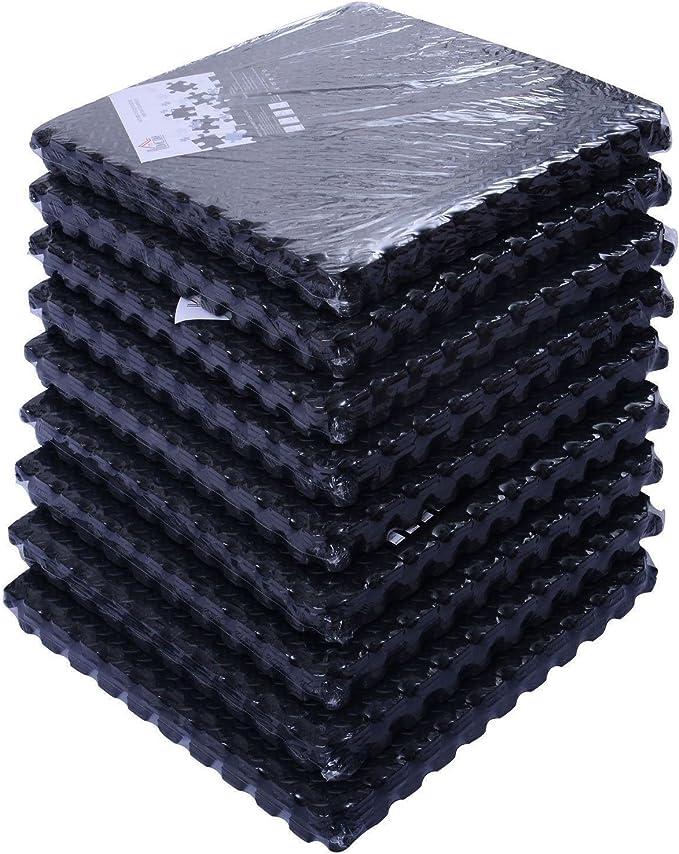 24 Sq Ft EVA Foam Floor Mat Interlocking Flooring Exercise Gym Playground New RD