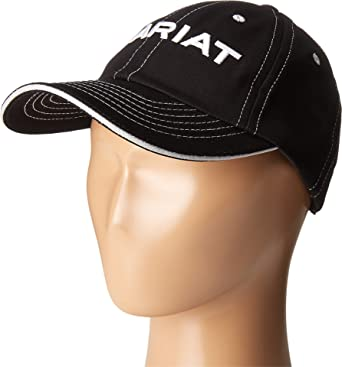 271f99497c3 Ariat Team II Cap Black  Amazon.co.uk  Sports   Outdoors