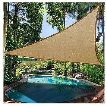 Amazon De Prom Near Premium Sonnensegel Dreieck Wasserfest