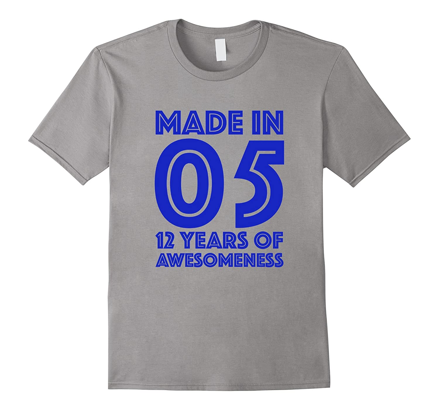 12th Birthday Shirt Gift Age 12 Year Old Boys Tshirt Boy Tee-BN