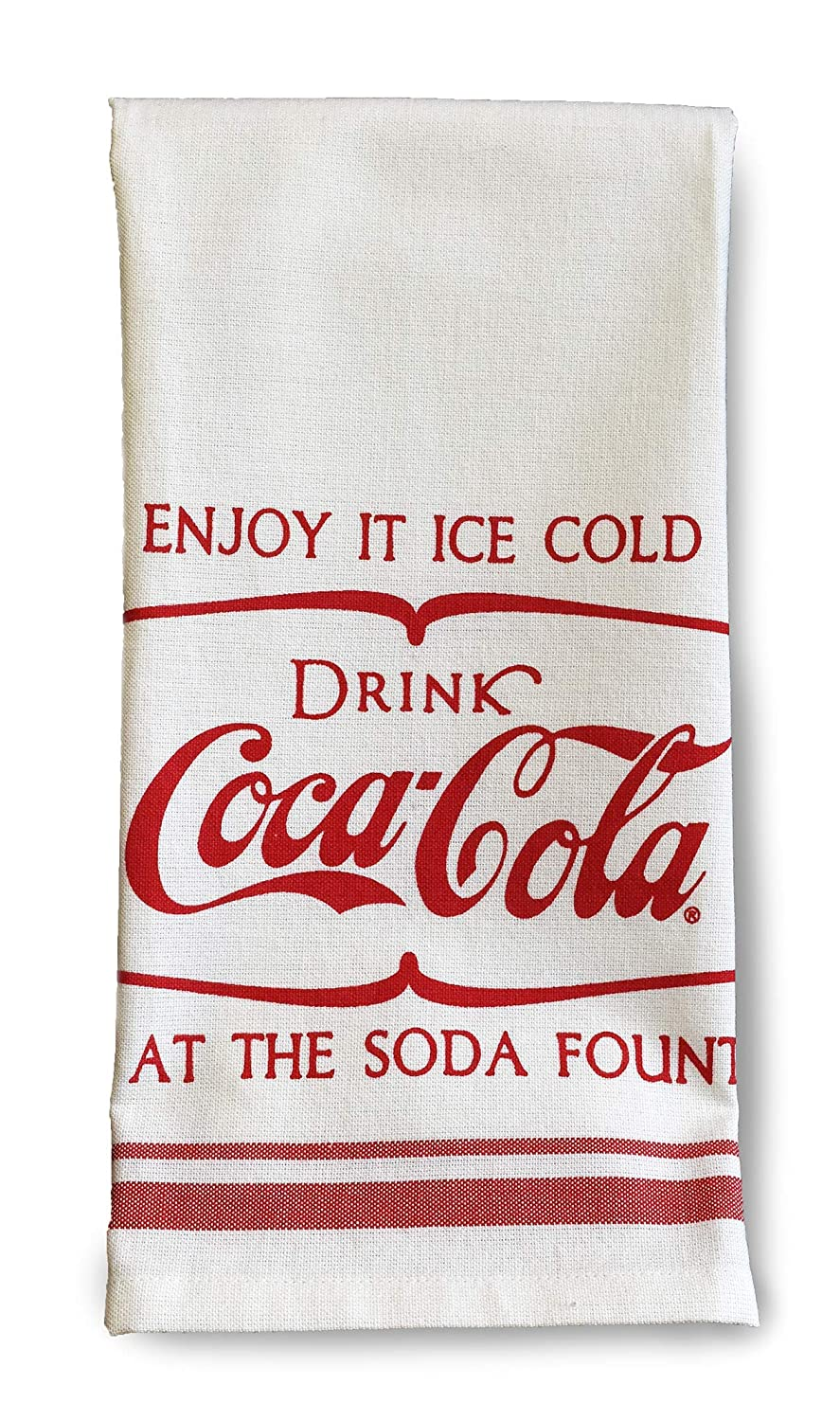 youngs Inc Coca Cola Tea Towel, Multi