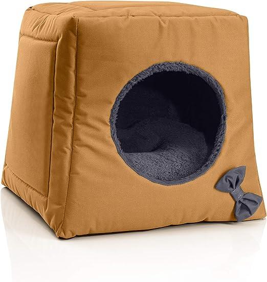 BedDog® Cueva para Gatos 3-1 Cala, Alfombra colchon para Gatos ...
