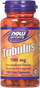 Now Foods Tribulus 500 mg 100 Capsules